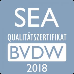 BVDW SEA Qualitätszertifikat 2018