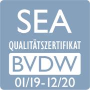 BVDW SEA Zertifikat 2019-2020